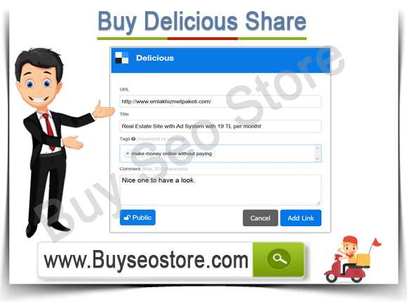 Buy Delicious Share