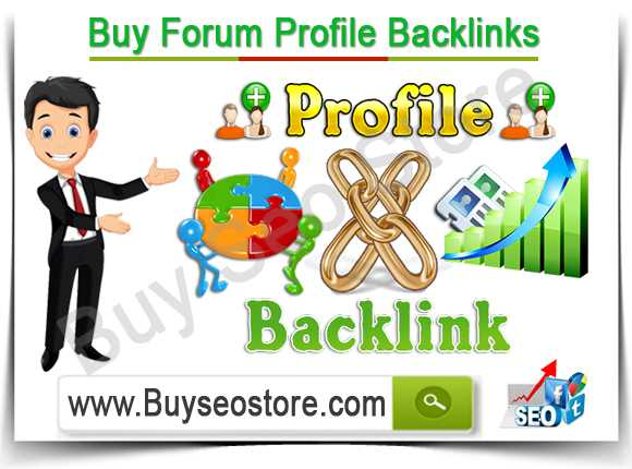 Buy Forum Profile Backlinks