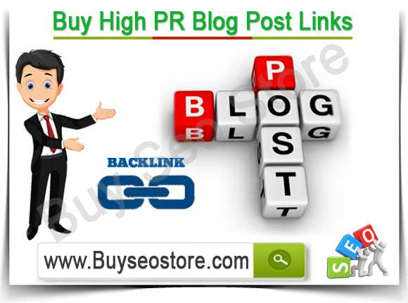 Buy High PR Blog Post Links