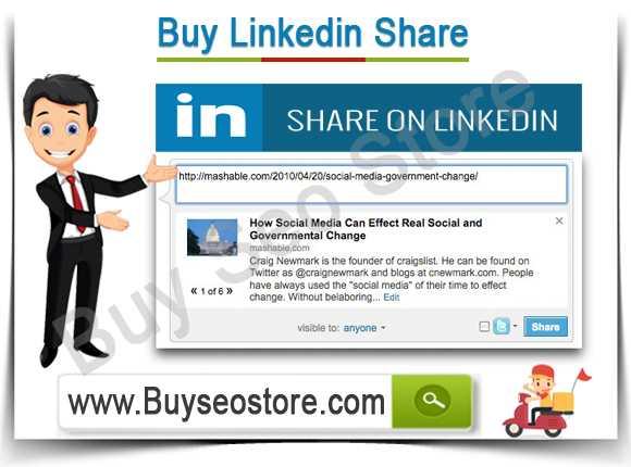 Buy Linkedin Share
