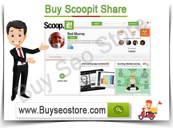 Buy Scoopit Share