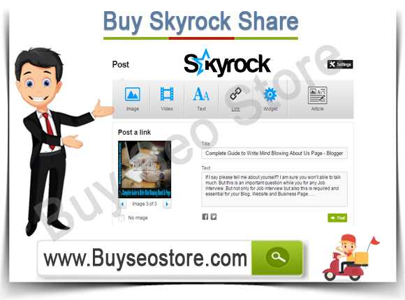 Buy Skyrock Share