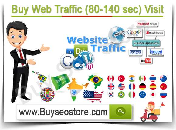 Buy Web Traffic (80-140 sec) Visit