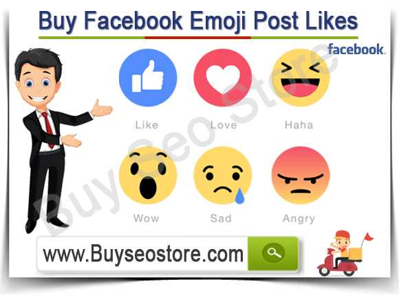 Buy Facebook Emoji Post Likes
